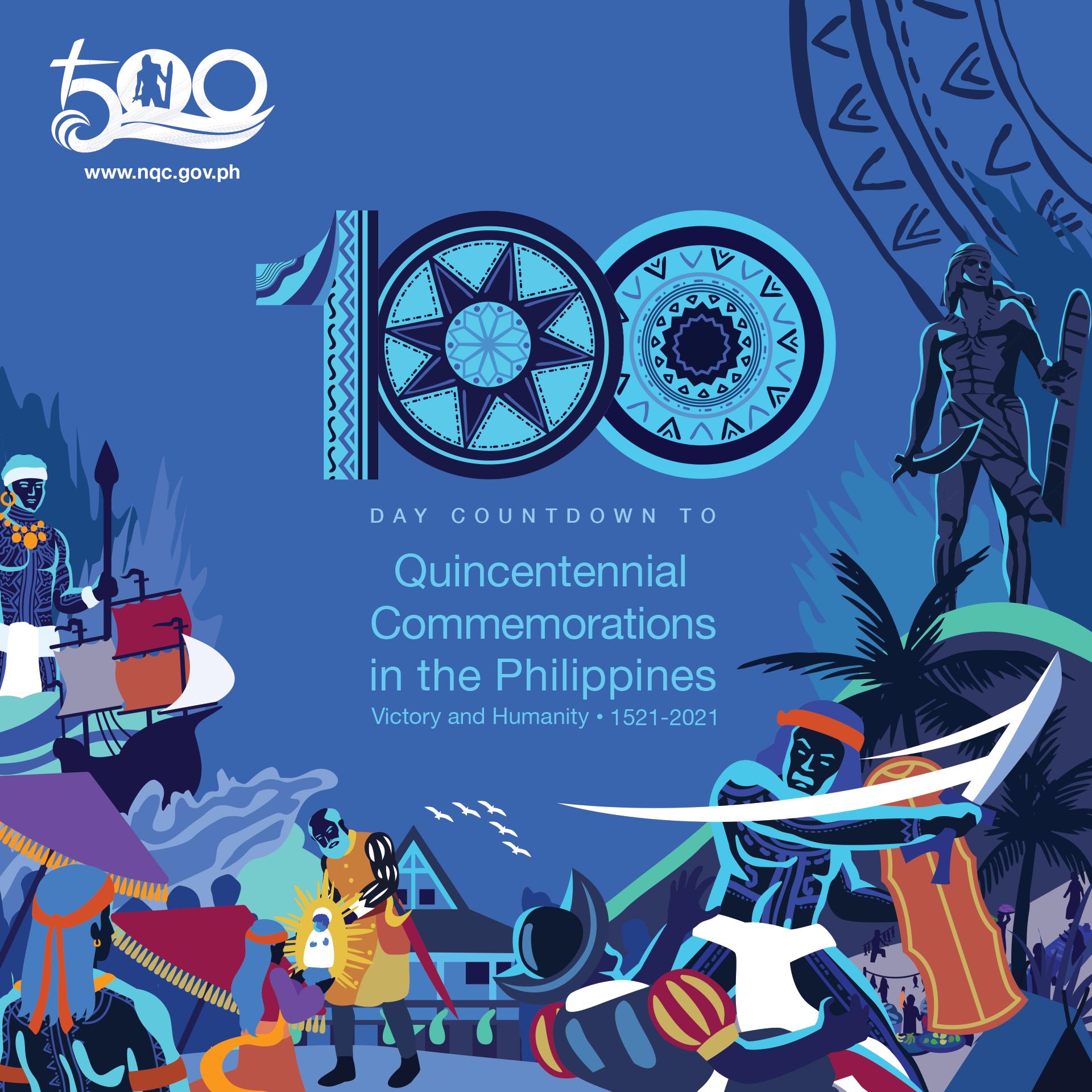 Filipino nation will begin its 100-day countdown to Lapu-Lapu's 500 years