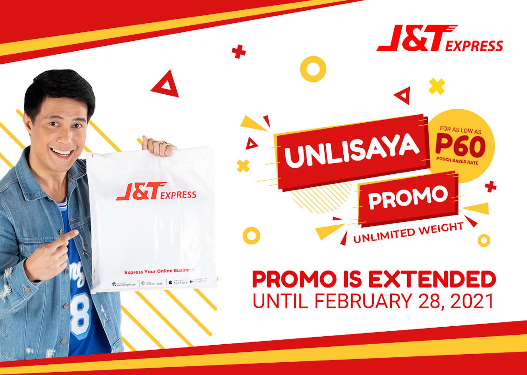 J&T Express UnliSaya promo extended!