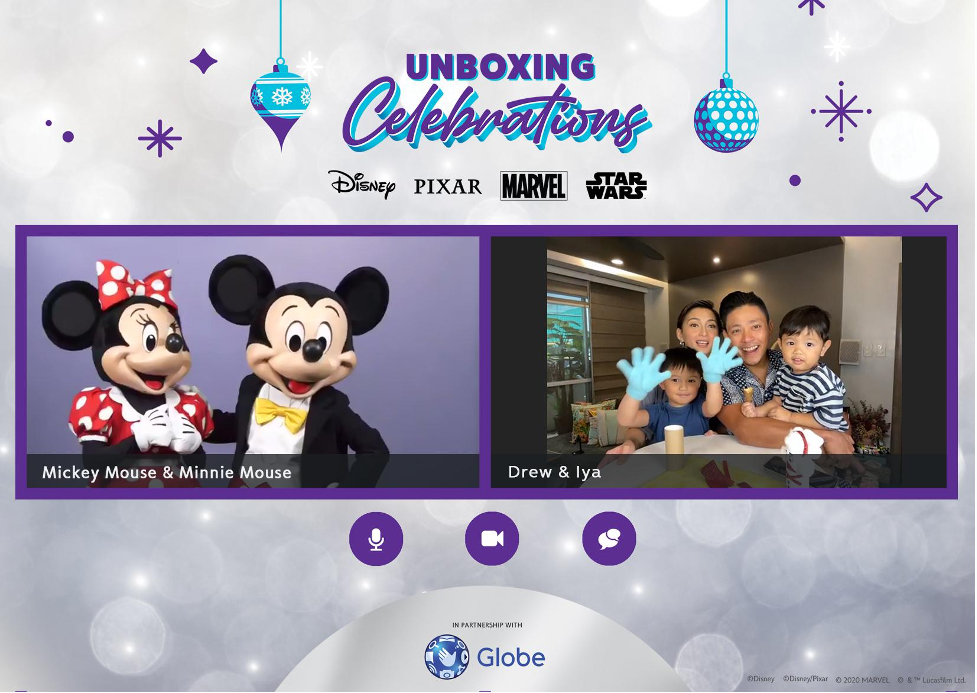 """Reinvent family bonding with Globe and Disney's """"Unboxing Celebrations"""""""