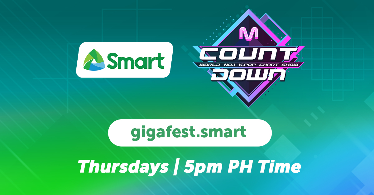 Smart boosts your K-Life with weekly exclusive streaming of M COUNTDOWN