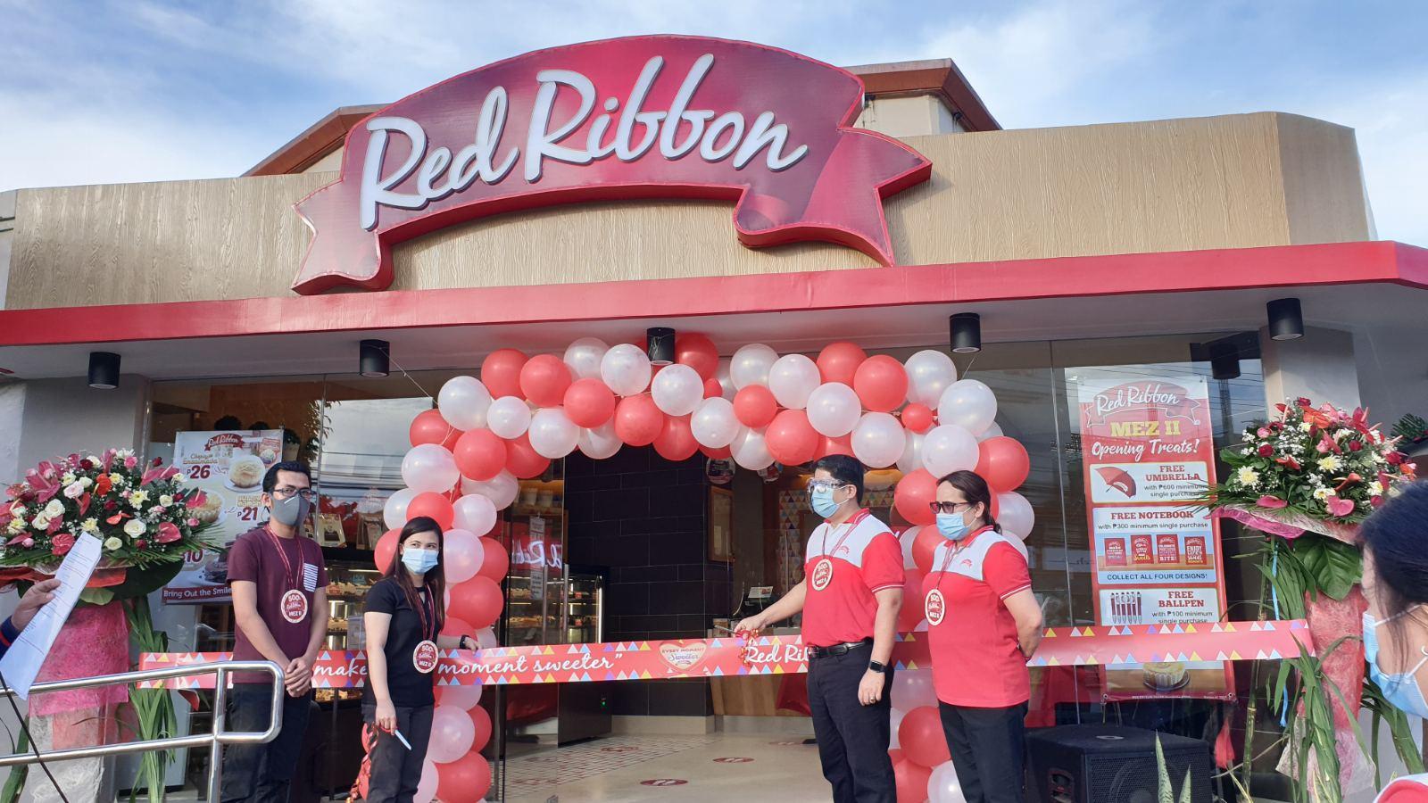 Red Ribbon opens 500TH store in Lapu-Lapu City, Cebu