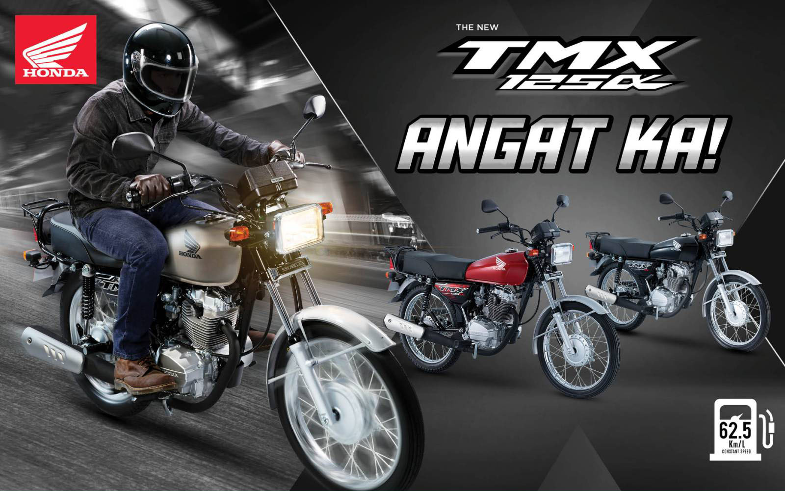 Making a living, riding solo with the new Honda TMX125 Alpha