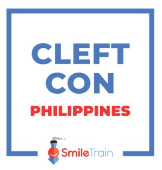 Smile Train Philippines live streams Cleft Con