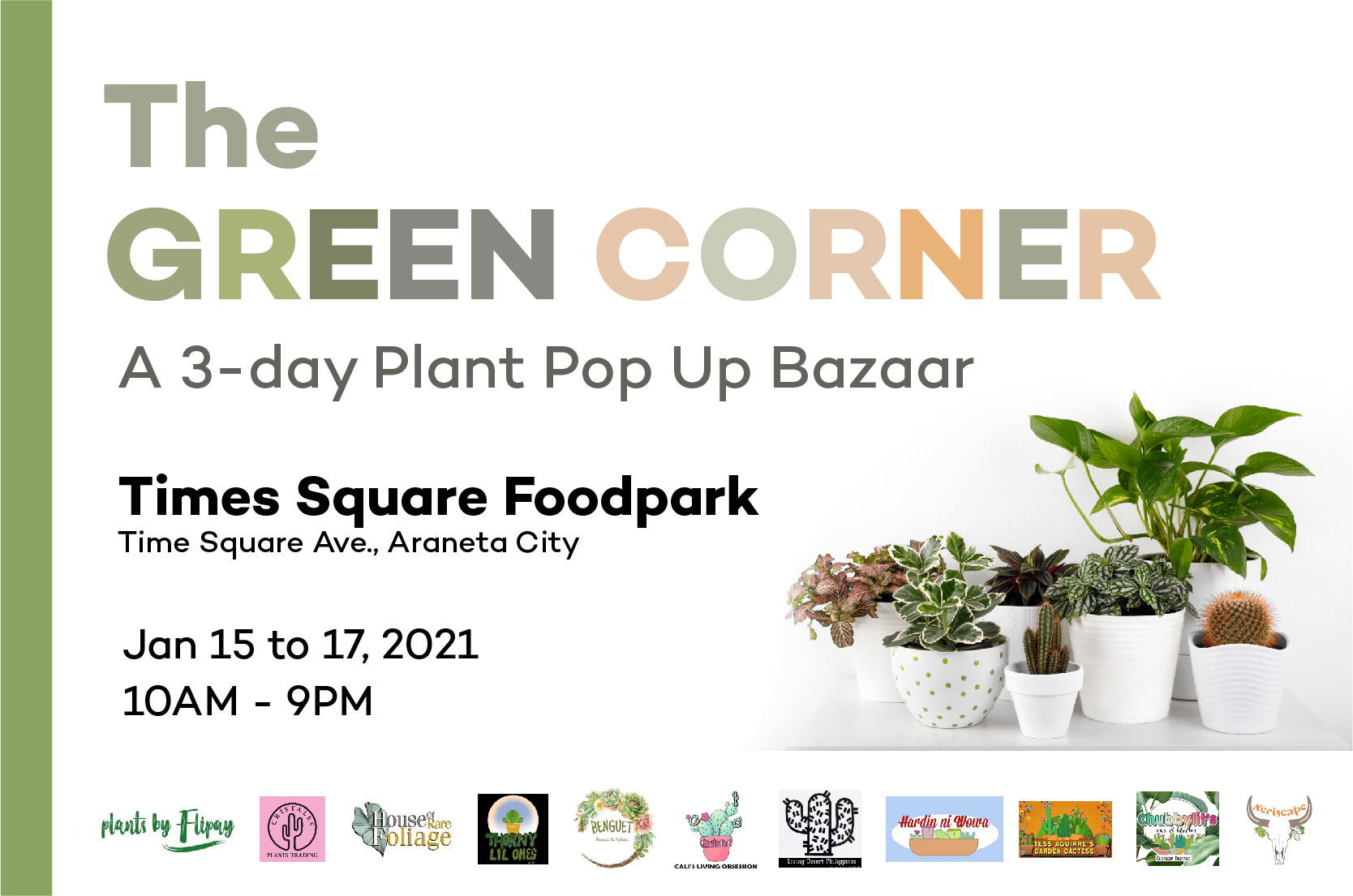 Plant bazaar, other outdoor offerings sprout anew in Araneta City