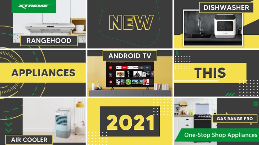Fresh start with new appliances from XTREME