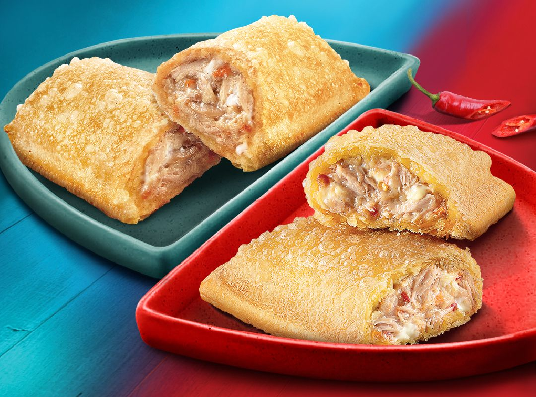 Jollibee's Crispy and Creamy Two-Na Sarap Tuna Pie is back in Original and Spicy!
