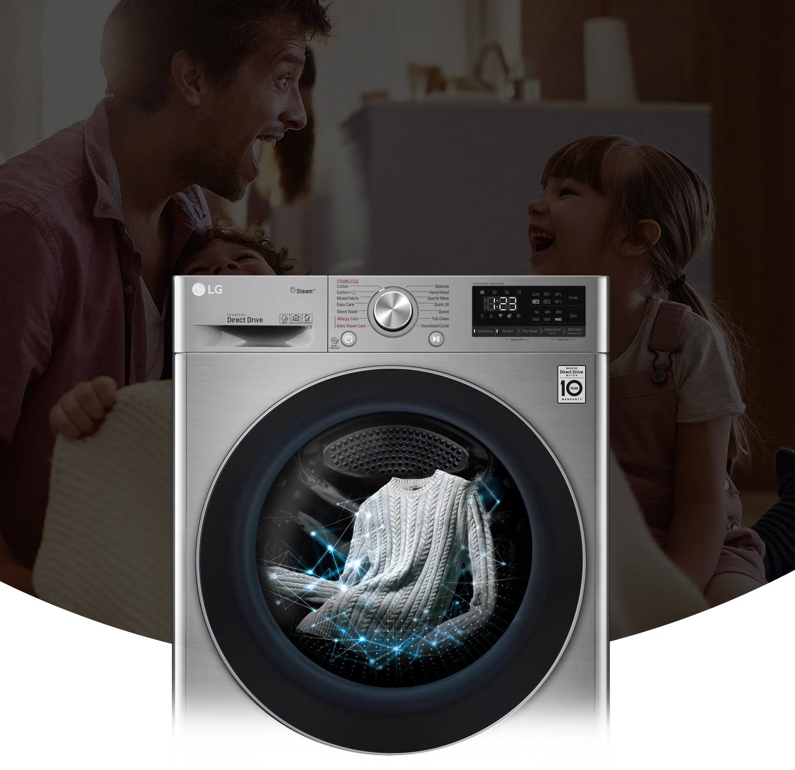 With LG, style and safety begins at home
