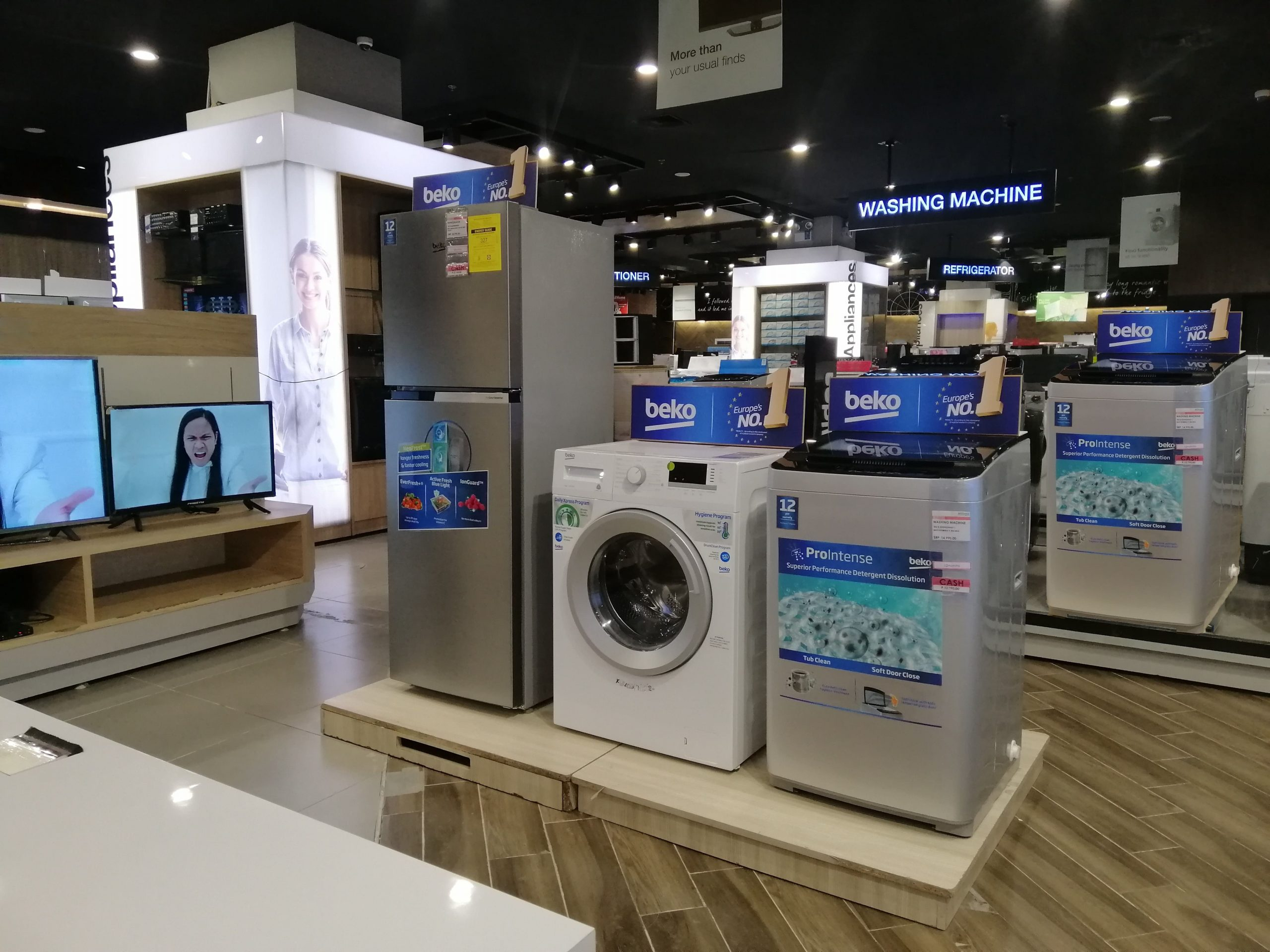 Beko, a European home appliance brand, is now available nationwide