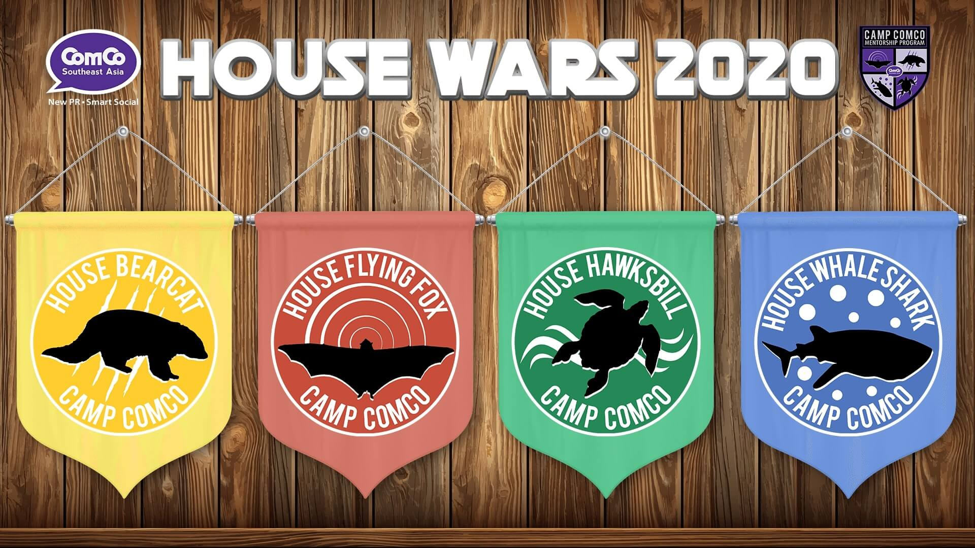 ComCo Southeast Asia successfully concludes House Wars 2020, opens Camp ComCo Cycle 14