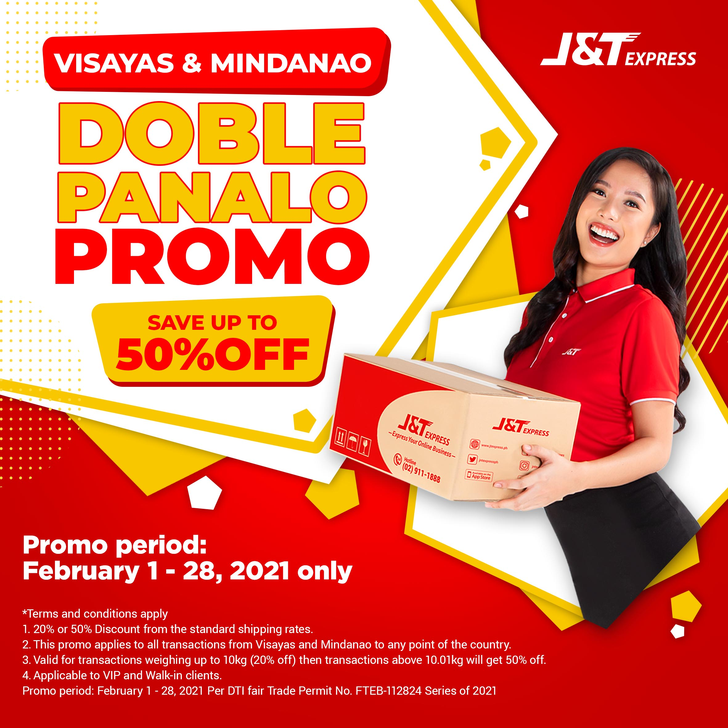 J&T Express spreads the love for VisMin customers: As much as 50% shipping discount