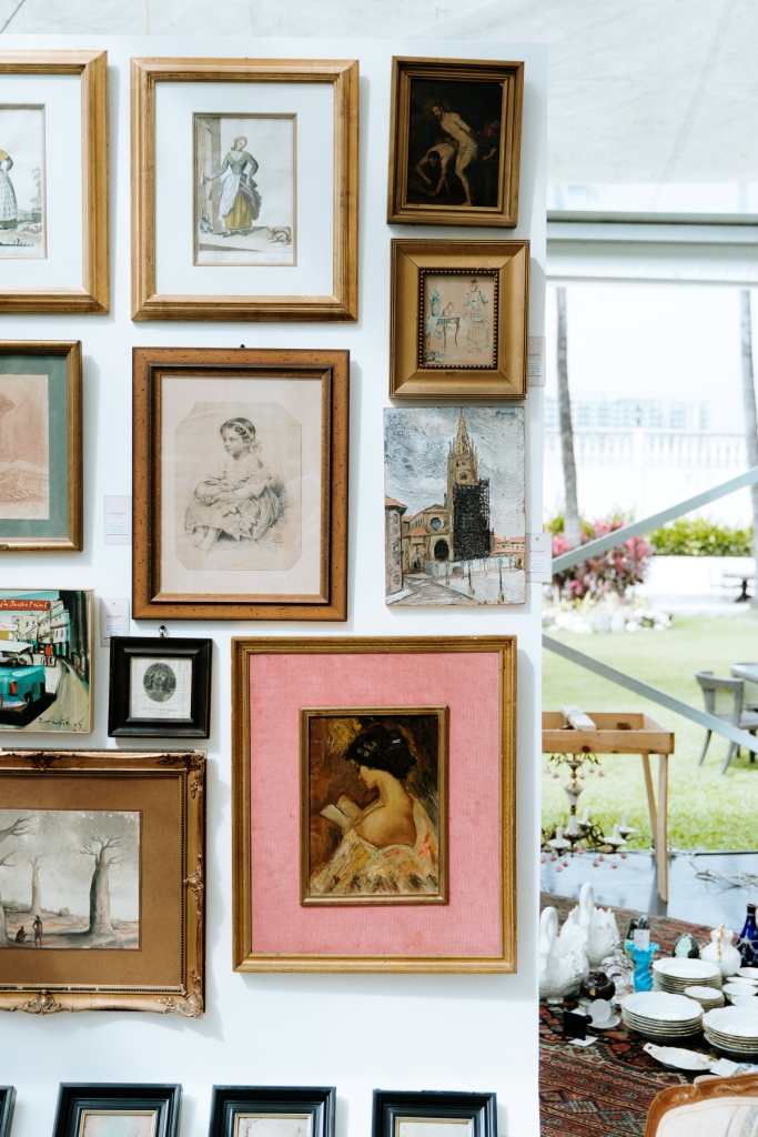 A colorful European flea market experience at The Palacio