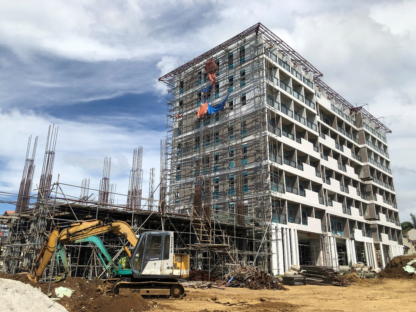 CitiGlobal's TCRS Cypress Tower Development, now in full swing