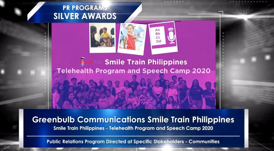 Smile Train wins big at the 56th Anvil Awards