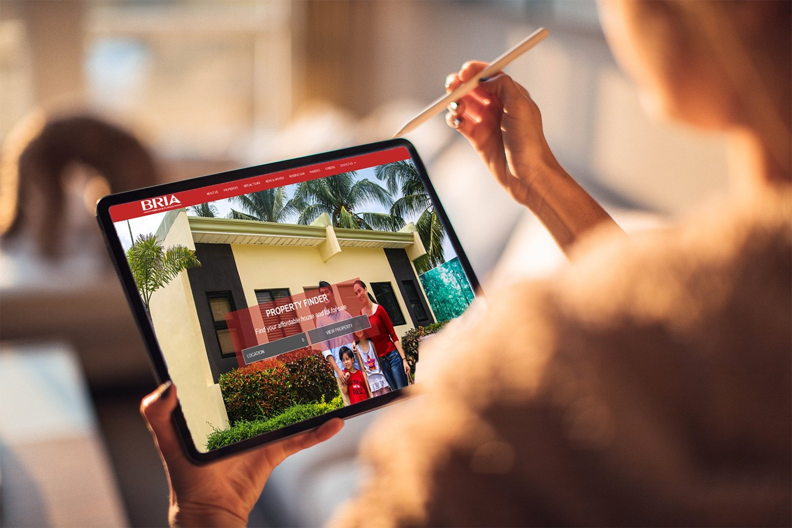 The process of buying and owning a BRIA Home can now be completed entirely online.