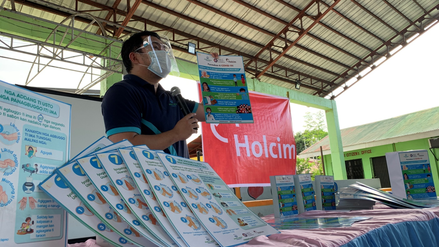 Holcim sustains HELPS campaign amid pandemic, assists over 160,000 in 2020