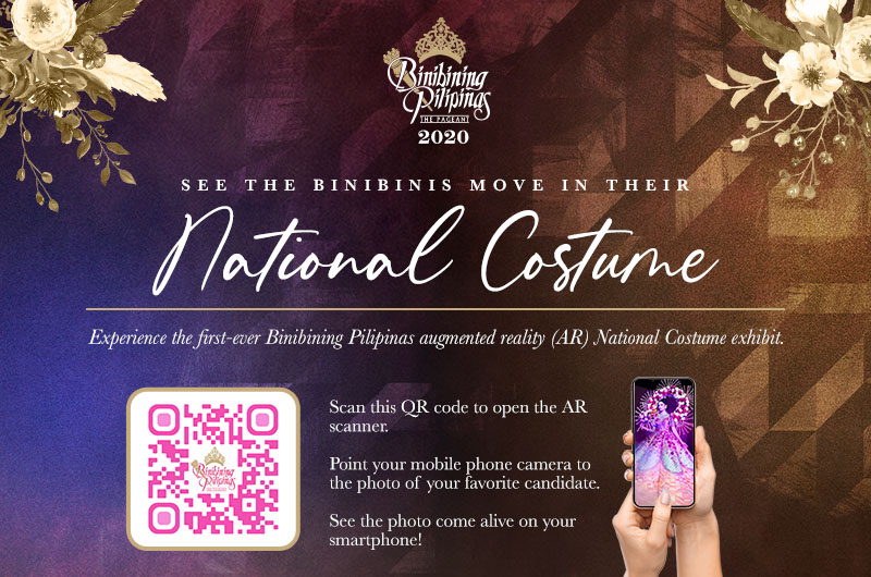 Get a digital Binibining Pilipinas experience through augmented reality