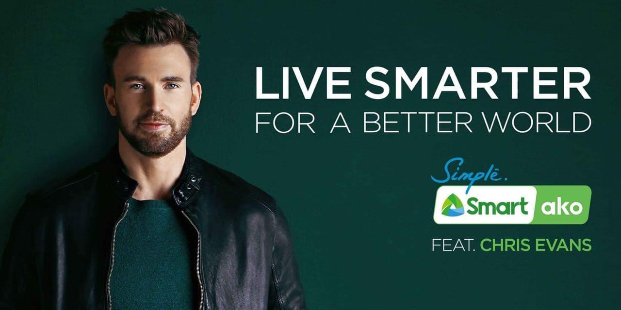 "Chris Evans joins Smart for ""Live Smarter for a Better World"" campaign"