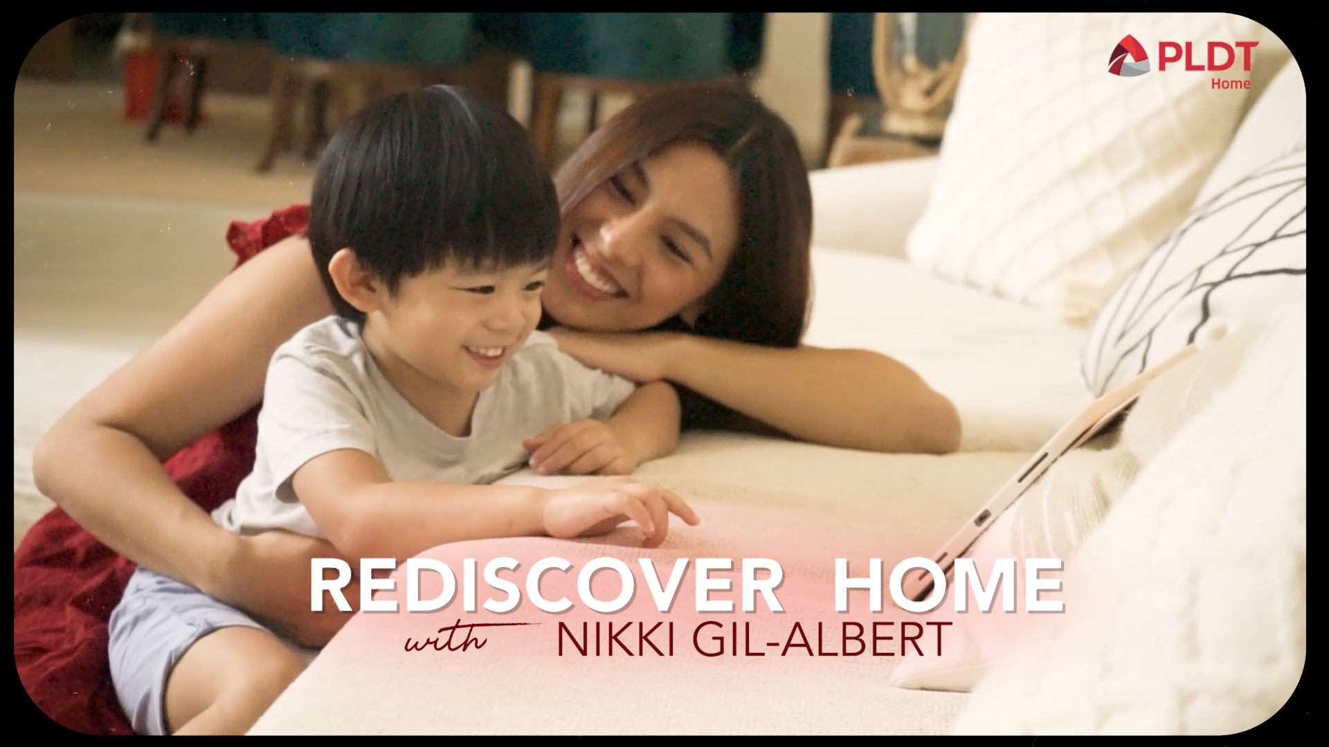 Celebrity mom Nikki Gil-Albert gives us a glimpse of her life at home