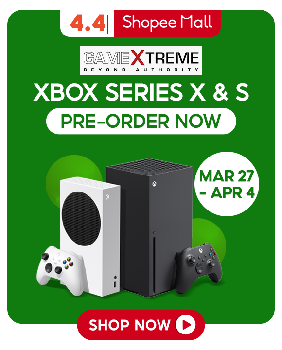 GameXtreme Xbox pre-order on Shopee starts now