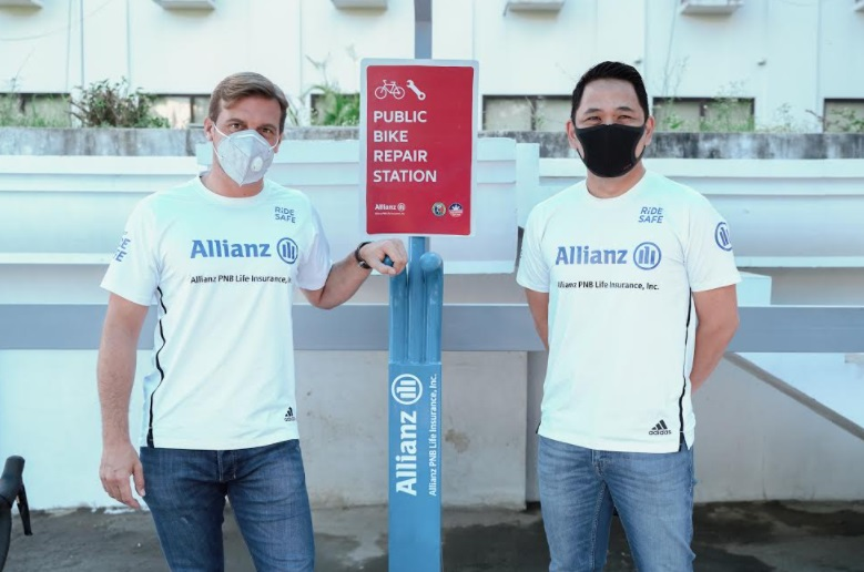 Allianz PNB Life calls on motorists to support bike safety and green mobility