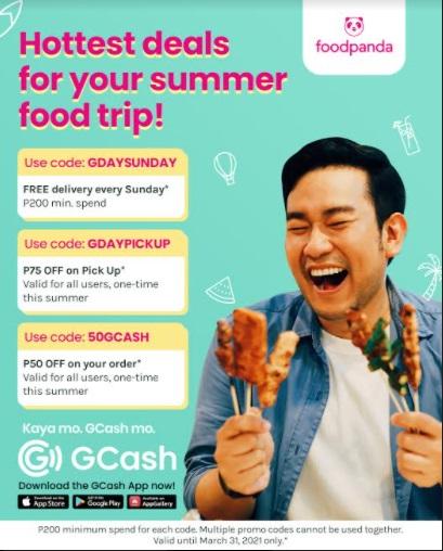 GCash foodpanda vouchers up for grabs