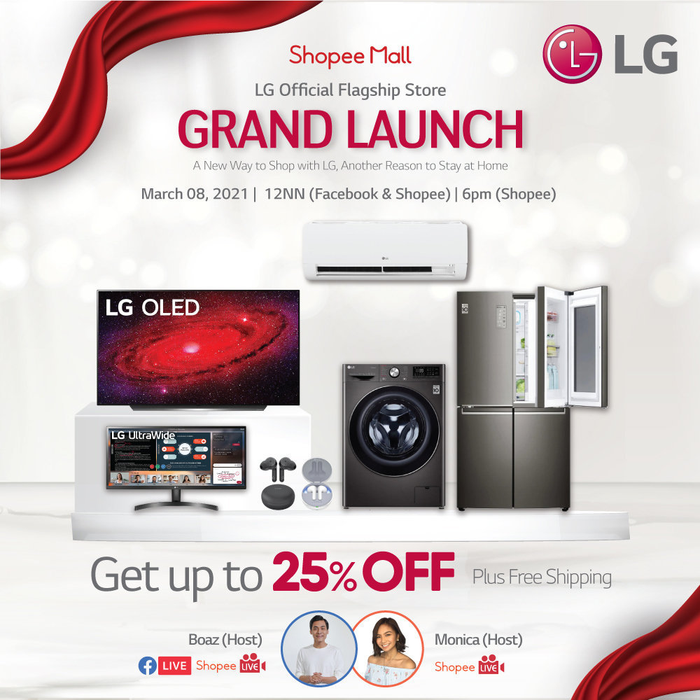LG makes shopping simple with Shopee