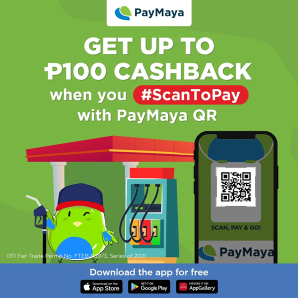PH's biggest gas stations drive up exciting rewards when you pay with PayMaya