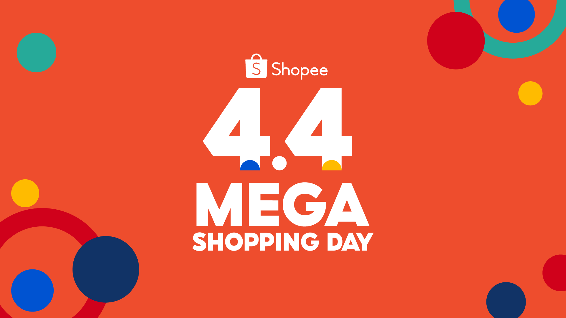 Shopee offers bigger, better deals at 4.4 Mega Shopping Day, the region's first Mega Sale of the Year