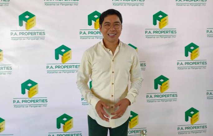"""Anthony """"Ka Tunying"""" Taberna is the new face of P.A. Properties"""