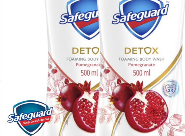 Safeguard Detox Foaming Body Wash is this season's must-have