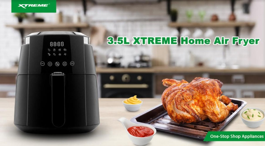 Here comes the most affordable digital Air Fryer from XTREME