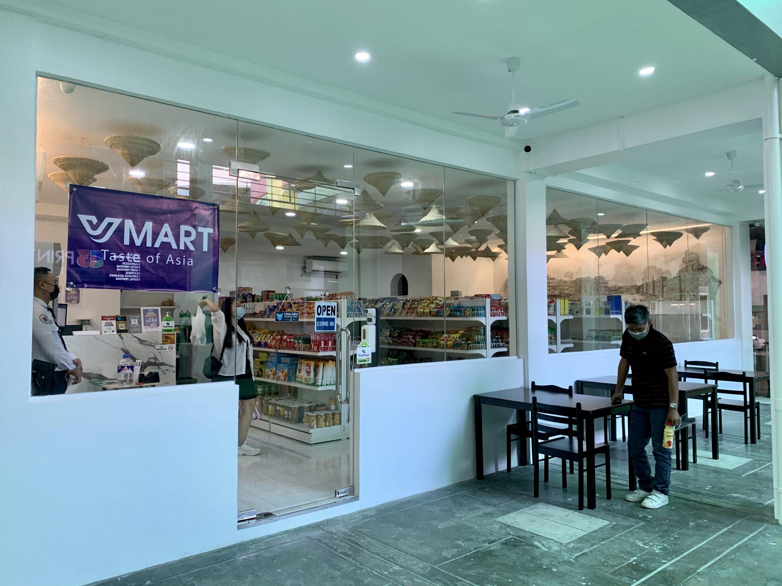 "Vmart.ph opens new ""Taste of Asia"" branch in Sherwood Place, Taft Avenue Manila"