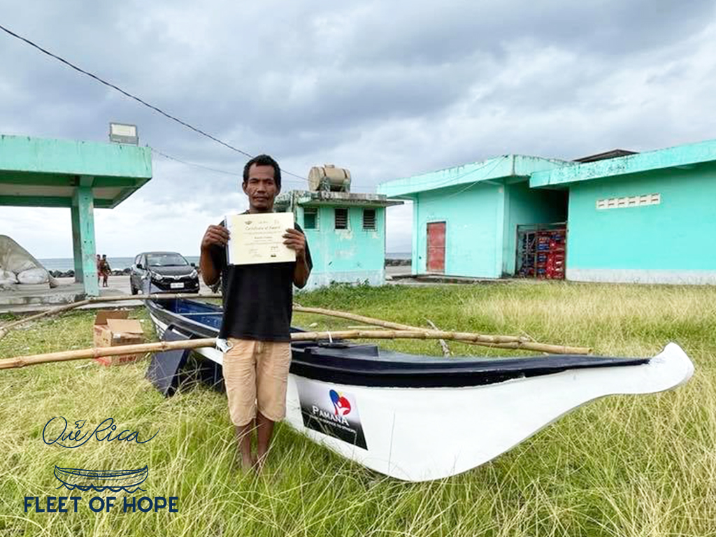 Keeping hope afloat: How Que Rica's Fleet of Hope gave 125 boats to Bicolano fishermen