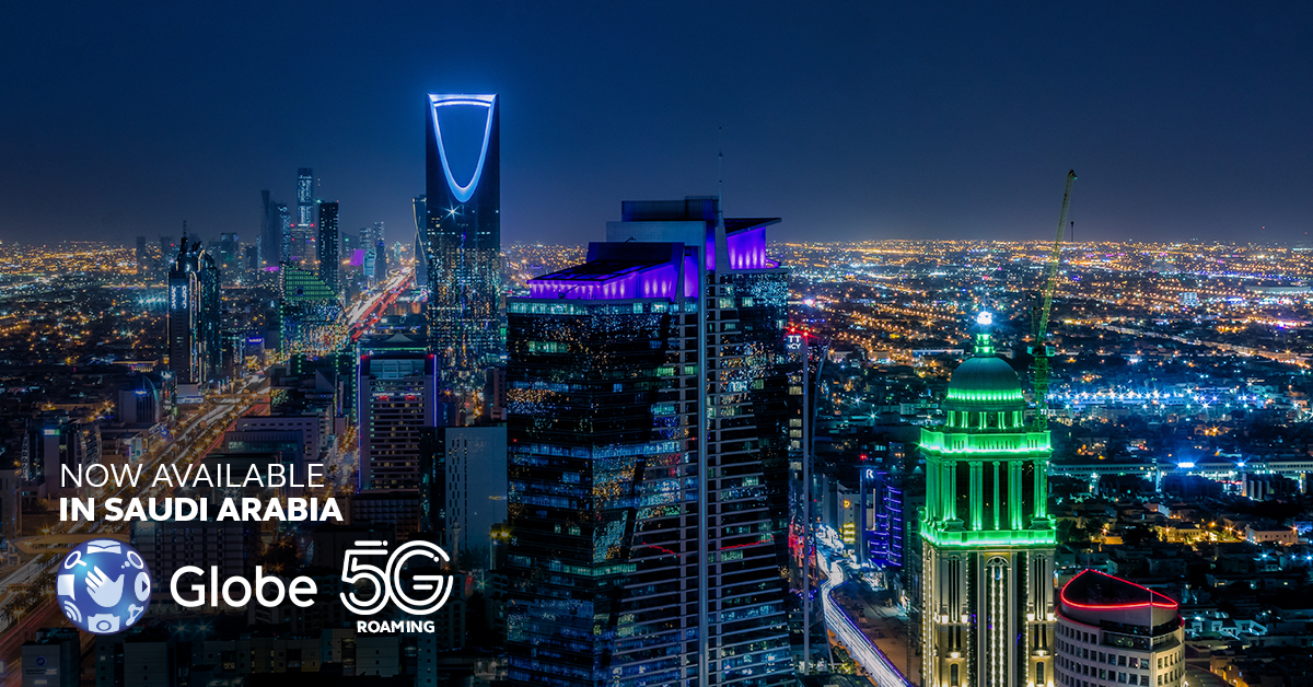 Globe elevates global 5G experience, expands coverage in Vietnam and Saudi Arabia