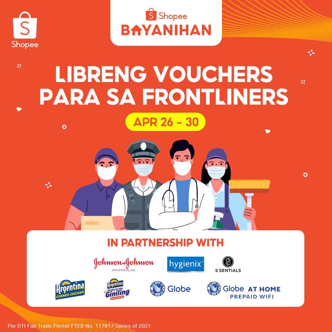 Globe Telecom gives back to frontliners through Shopee Bayanihan Program