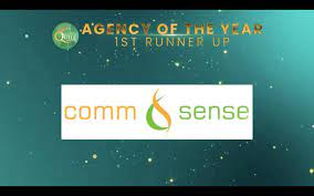 Comm&Sense bags another milestone as PH Quill 1st runner-up Agency of the Year