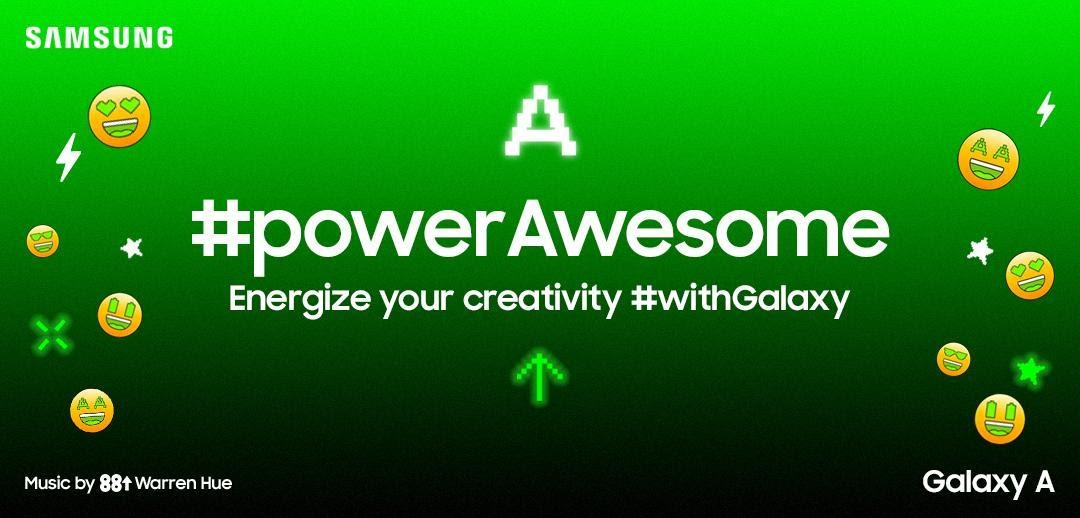 Show off those big energy moves with Samsung's #powerAwesome TikTok challenge