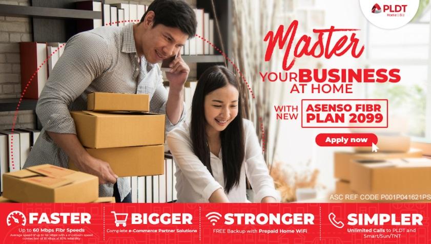 PLDT offers bigger, faster Home Biz Plans