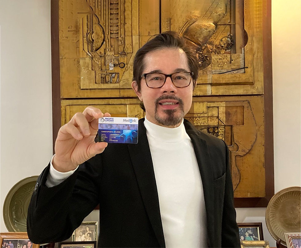 The three P's that help Christopher de Leon power through the pandemic
