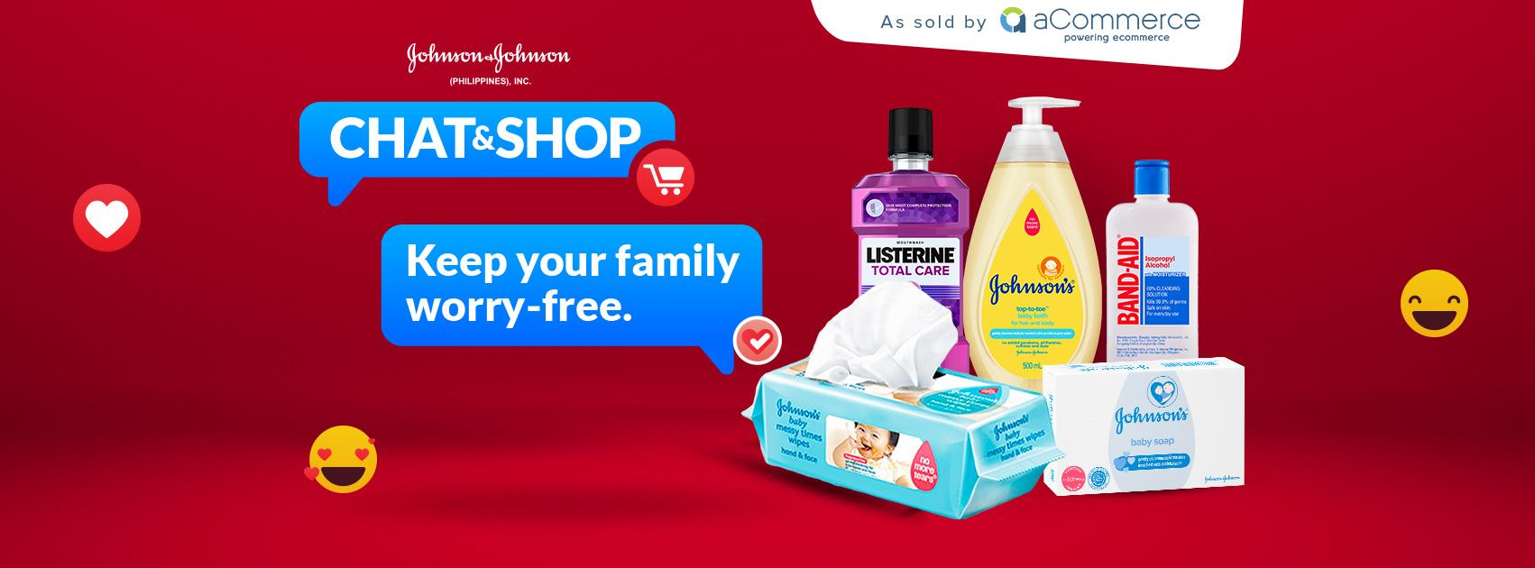 Shopping simplified with J&J PH Chat & Shop
