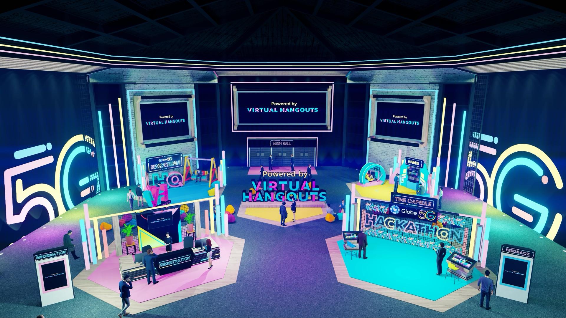 Globe Virtual Hangouts bridging 5G Hackathon to Pinoy youth