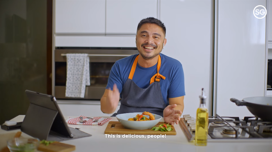Marvin Agustin and Chef Bjorn Shen heat up Zi Char — the Singaporean cooking style we'd love to try!