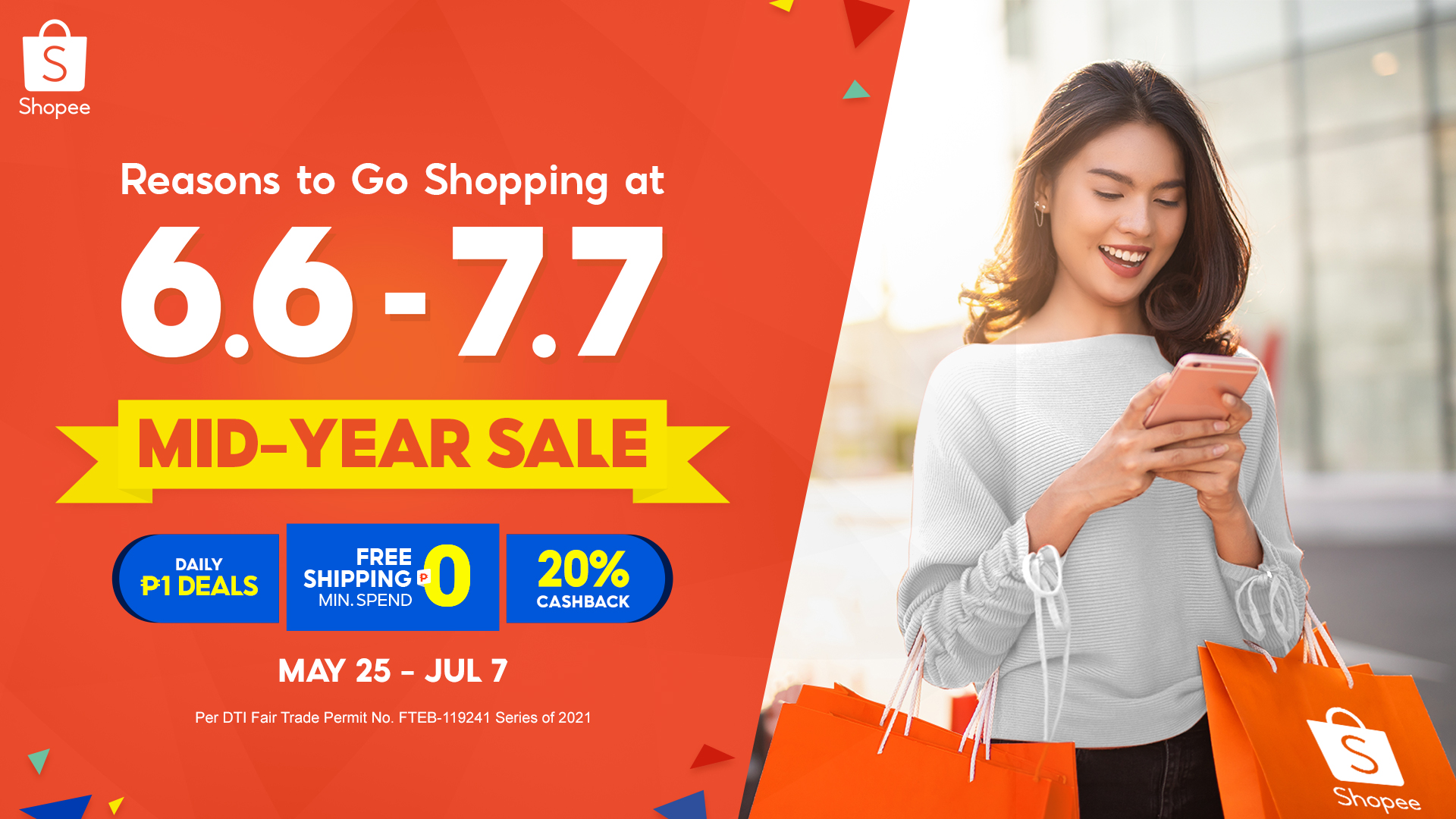 6 Reasons to go on a Shopping Spree at Shopee's 6.6 - 7.7 Mid-Year Sale