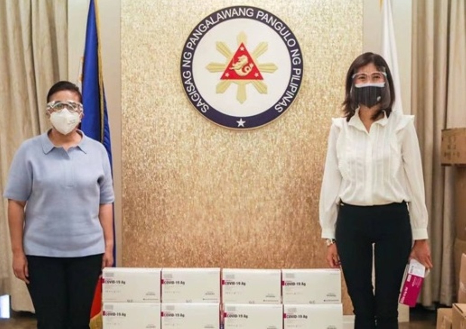 7,500 antigen kits donated to OVP and LGUs