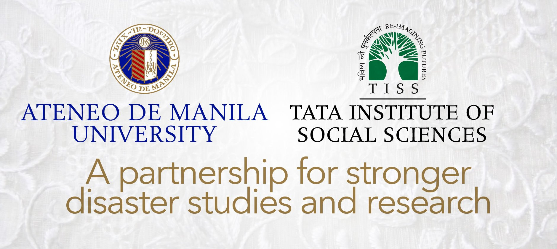 Ateneo, India's Tata Institute of Social Sciences link up to strengthen disaster studies and research