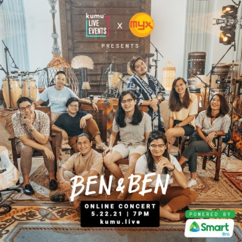 Smart Bro lets you win tickets to Ben&Ben's kumu Live Events concert on May 22