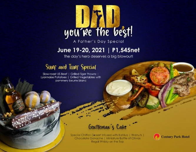 Century Park Hotel celebrates the Man of the Hour on Father's Day