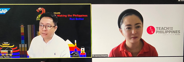 SAP gives grant to Teach for the Philippines's Batang Bayani Life Skills Program