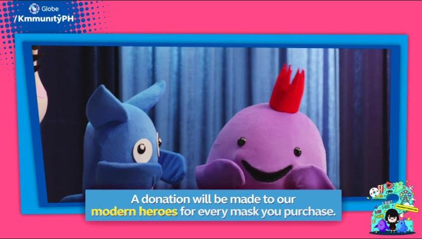 "Globe K'mmunity and The Ripple Society to donate Tinytan Breathable Masks to say ""kamsahamnida"" to modern-day heroes"