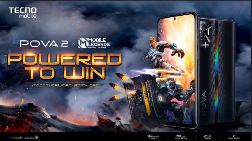 TECNO Mobile delivers a gaming experience like no other through POVA x Mobile Legends Bang Bang: A partnership that's built to win